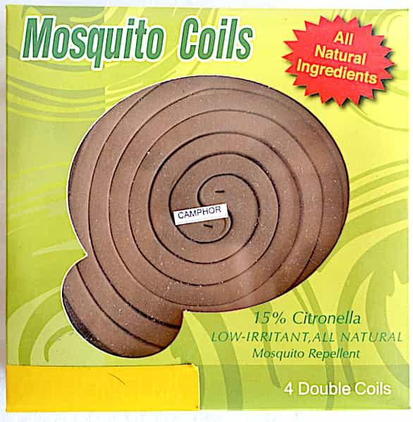 Camphre Rouleaux Spirales Répulsifs Moustiques